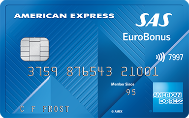 EuroBonus credit card – earn Extra points every day SAS