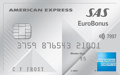 EuroBonus credit card – earn Extra points every day!   SAS