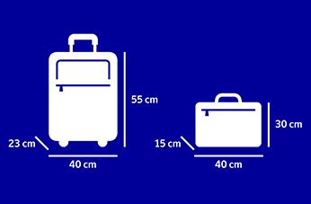 Handbagage – Storleks och viktgränser | SAS